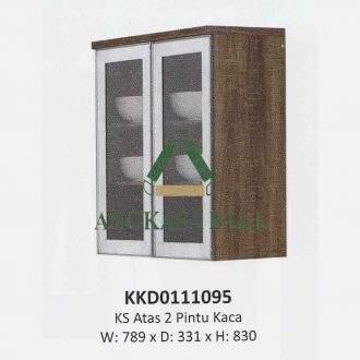 Kitchen Set Atas 2 Pintu Kaca Tetris Olympic