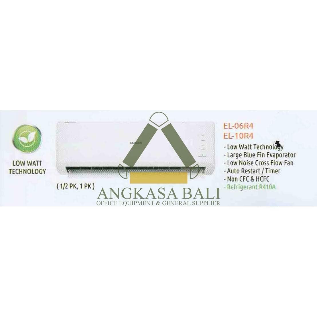 Ac 1 2 Pk El 06r4 Sanken Di Bali Angkasa Low Jual Denpasar Distributor Peralatan Kantor Furniture